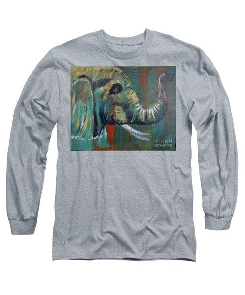 Green Wonder Long Sleeve T-Shirt by Stuart Engel