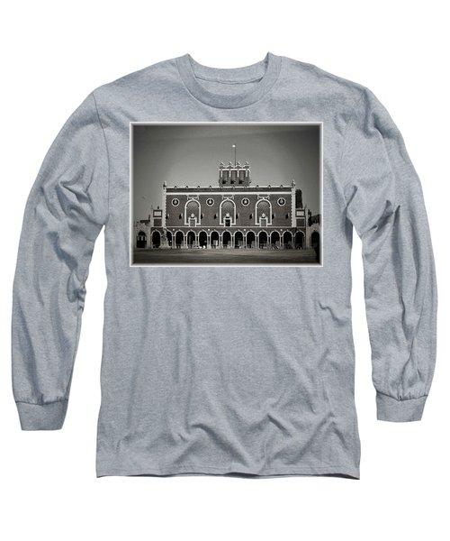 Greetings From Asbury Park Long Sleeve T-Shirt by Allen Beilschmidt