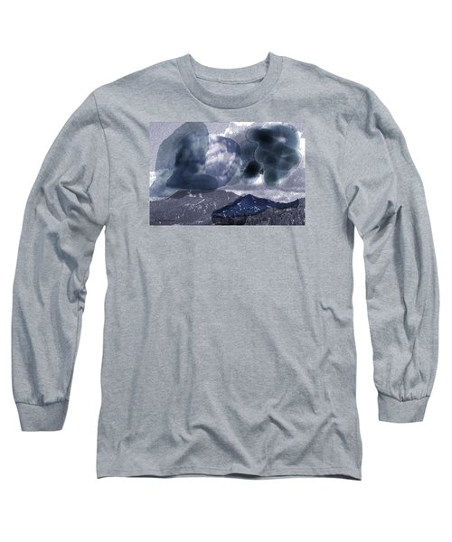 Grey Clouds Long Sleeve T-Shirt