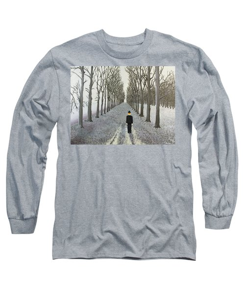 Grey Day Long Sleeve T-Shirt by Thomas Blood