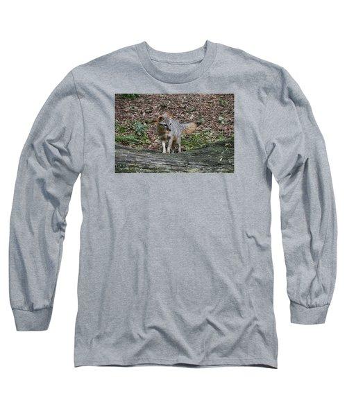 Grey Fox Long Sleeve T-Shirt