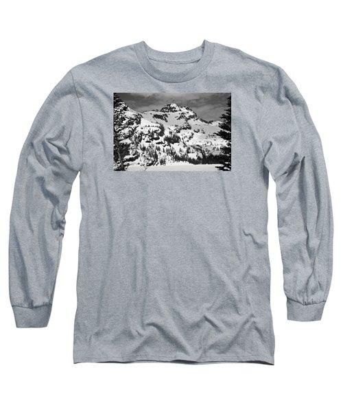Grey Wolf Peak, Mission Mountains Long Sleeve T-Shirt