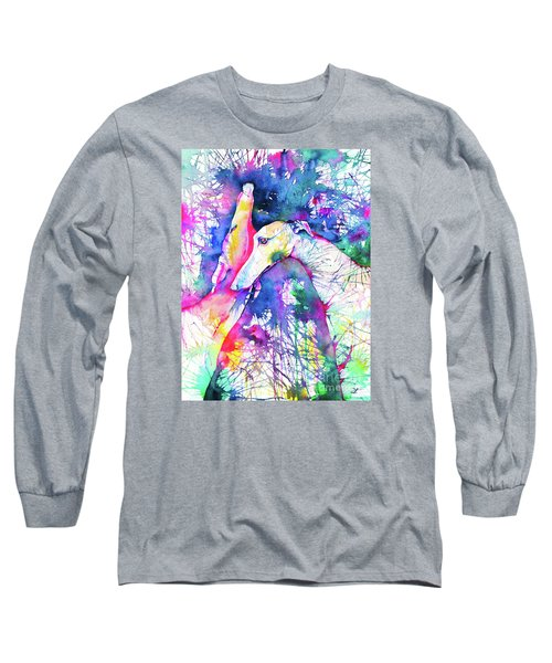 Greyhound Trance Long Sleeve T-Shirt