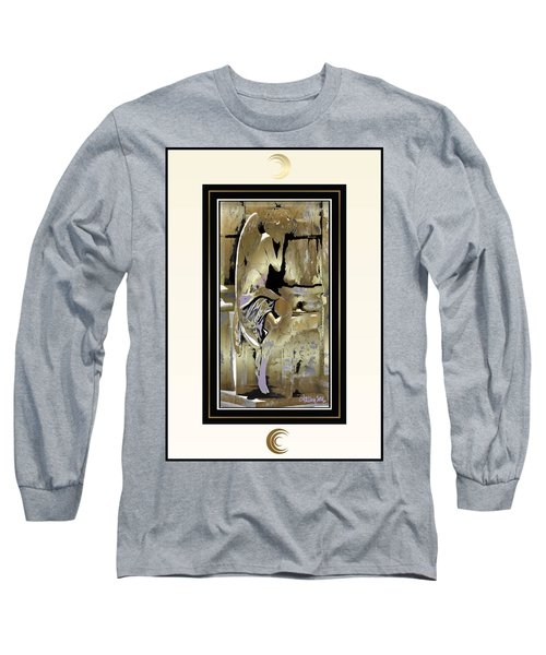 Grief Angel - Light Border Long Sleeve T-Shirt
