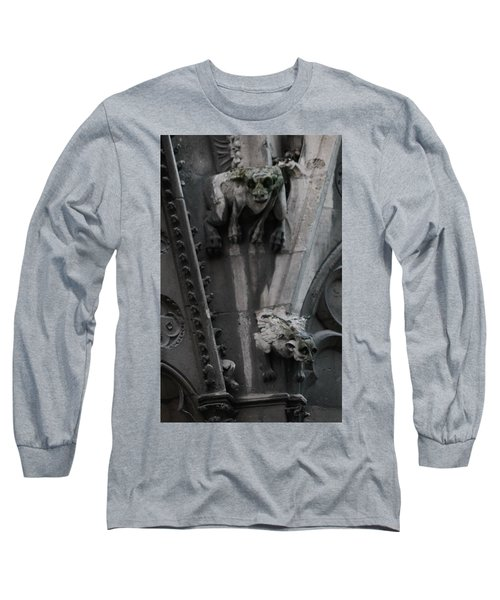 Long Sleeve T-Shirt featuring the photograph Griffons by Christopher Kirby