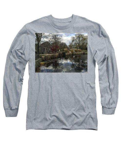 Grist Mill Sandwich Massachusetts Long Sleeve T-Shirt