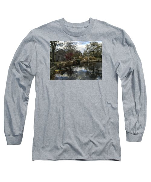 Grist Mill Sandwich Massachusetts Long Sleeve T-Shirt