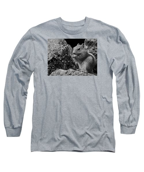 Long Sleeve T-Shirt featuring the photograph Ground Squirrel  by Christina Lihani