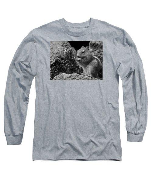 Ground Squirrel  Long Sleeve T-Shirt by Christina Lihani