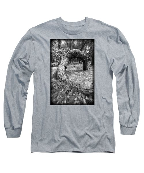 Long Sleeve T-Shirt featuring the photograph Grounded by Alan Raasch