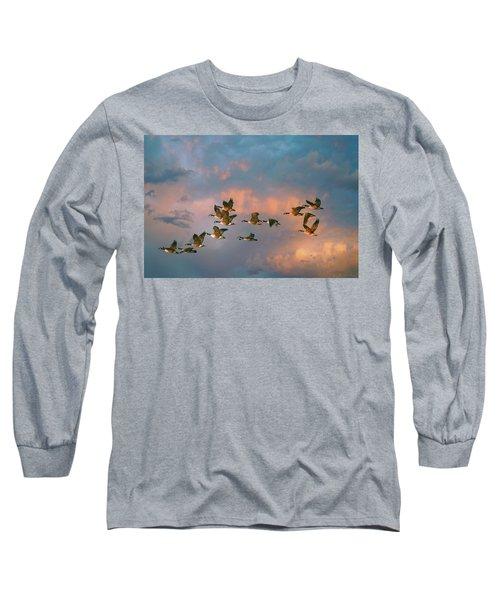 Group Flight Long Sleeve T-Shirt