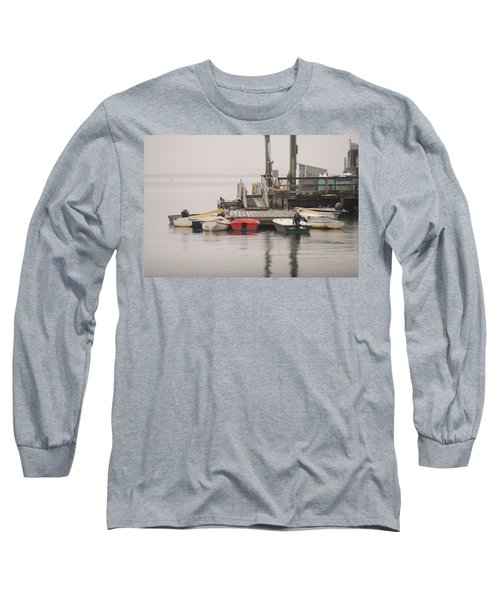 Group Meeting Long Sleeve T-Shirt by Jewels Blake Hamrick