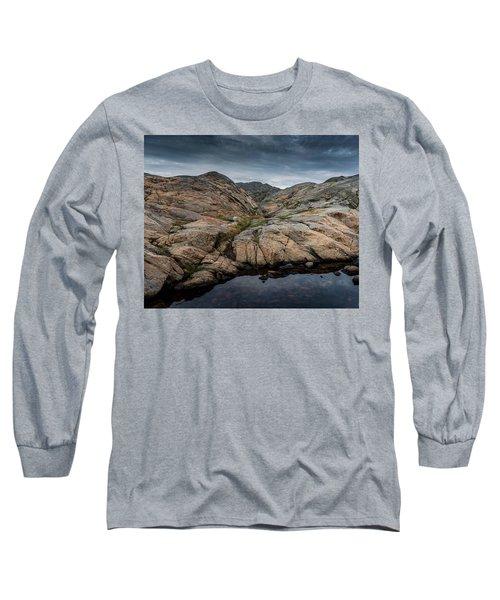 Grundsund, Sweden Long Sleeve T-Shirt by Martina Thompson