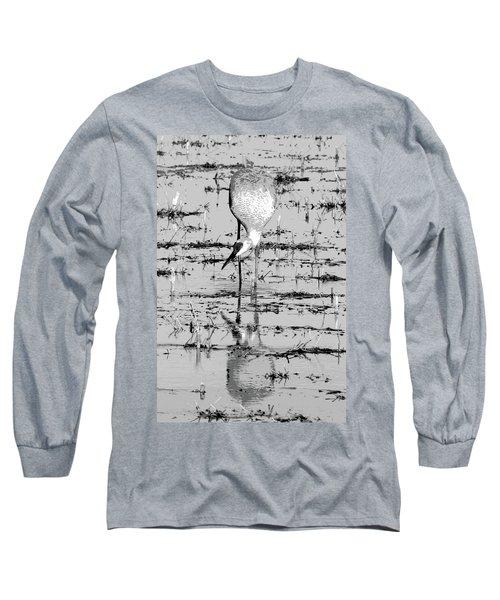 Grus Canadensis 2 Long Sleeve T-Shirt