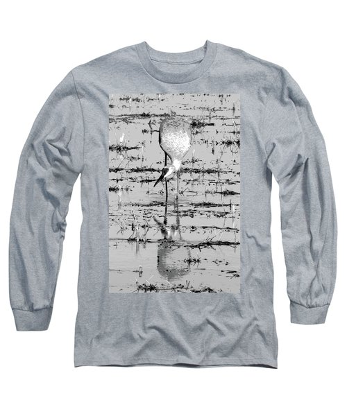 Grus Canadensis 2 Long Sleeve T-Shirt