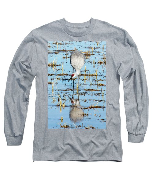 Grus Canadensis I Long Sleeve T-Shirt
