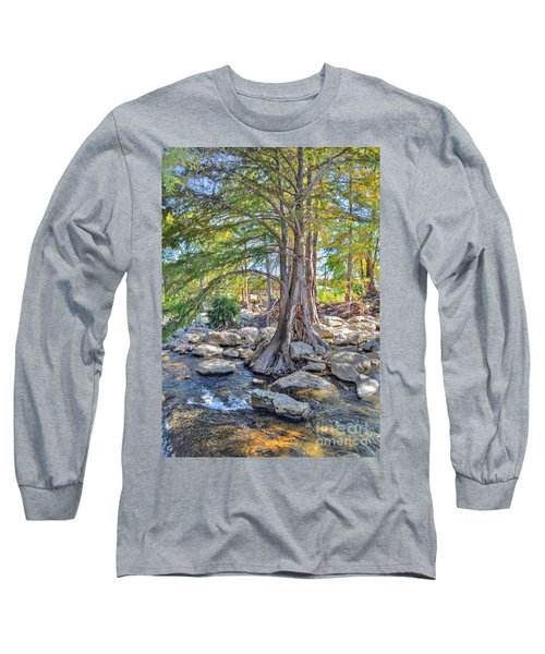 Guadalupe River Long Sleeve T-Shirt by Savannah Gibbs