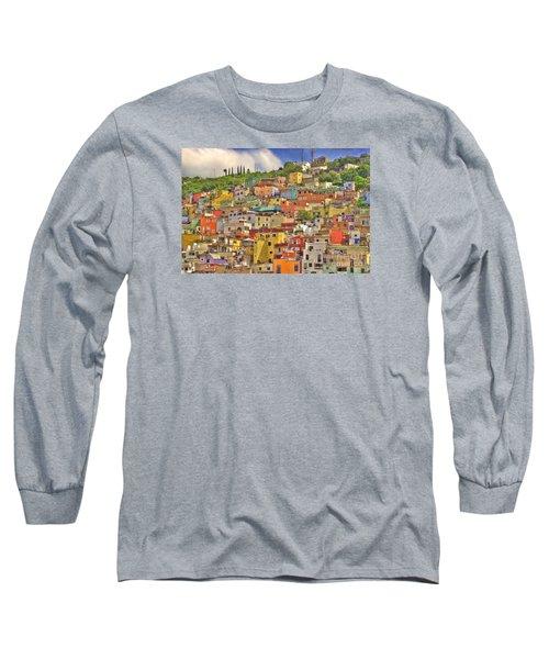 Guanajuato Hillside Long Sleeve T-Shirt