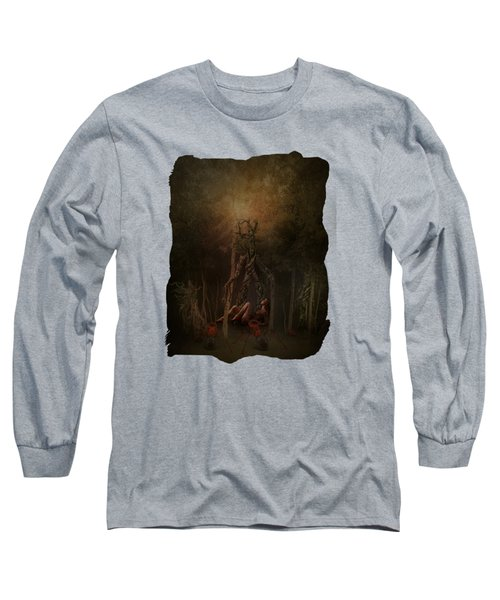 Guardians Of The Forest Long Sleeve T-Shirt by Terry Fleckney