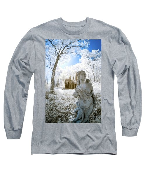 Long Sleeve T-Shirt featuring the photograph Guarding The Fort 2 by Brian Hale