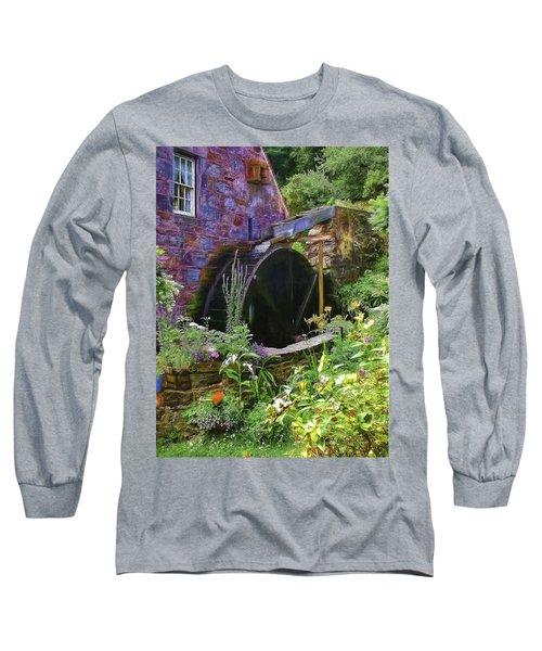 Guernsey Moulin Or Waterwheel Long Sleeve T-Shirt