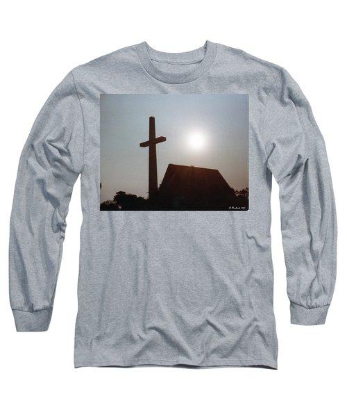 Long Sleeve T-Shirt featuring the photograph Guiding Light by Betty Northcutt