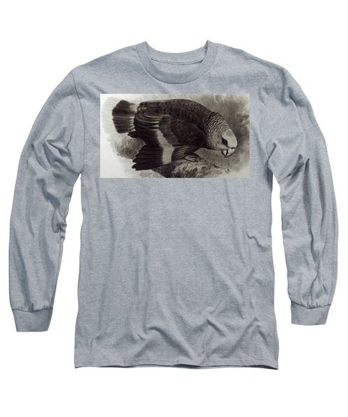 Guilding's Amazon Parrot,  Long Sleeve T-Shirt