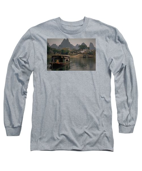 Guilin Limestone Peaks Long Sleeve T-Shirt
