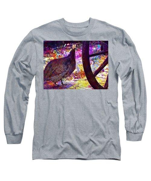 Guinea Fowl Guinea Fowl Chicken  Long Sleeve T-Shirt