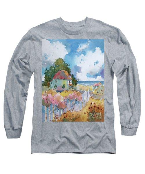 Gulf Coast Cottage Long Sleeve T-Shirt
