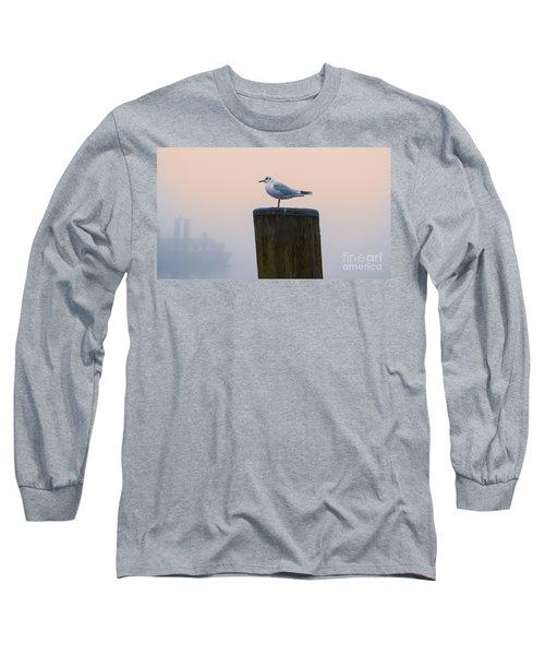 Gull And Fog Long Sleeve T-Shirt
