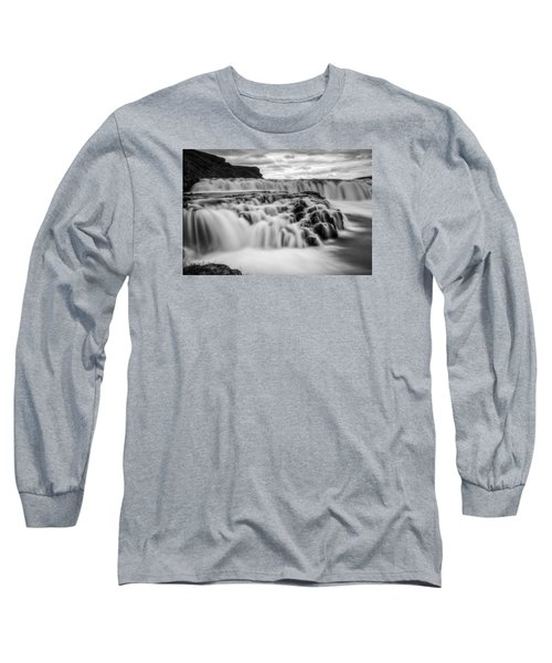 Gullfoss Long Sleeve T-Shirt by Brad Grove