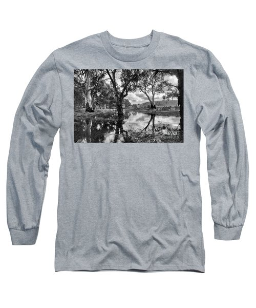 Gum Creek Long Sleeve T-Shirt by Douglas Barnard