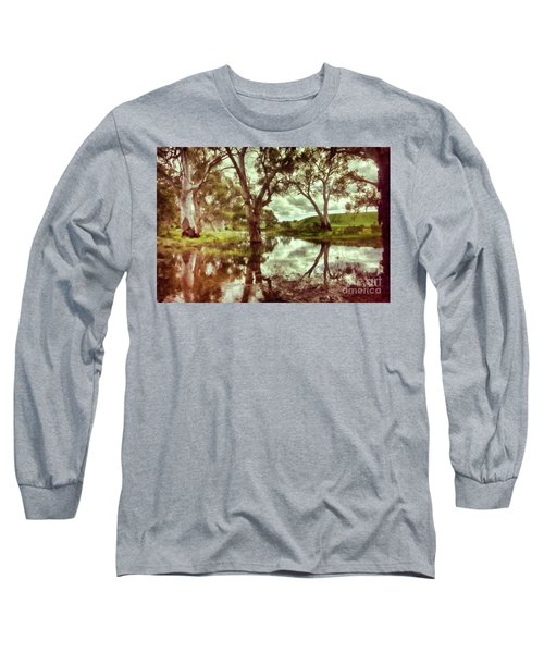 Gum Creek V2 Long Sleeve T-Shirt by Douglas Barnard