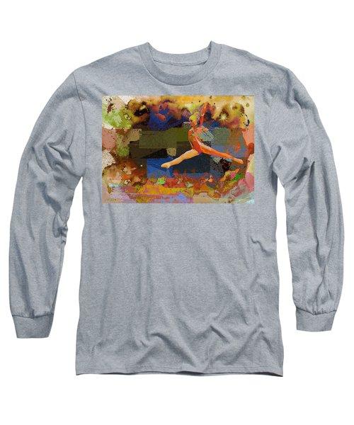 Gymnast Girl Long Sleeve T-Shirt