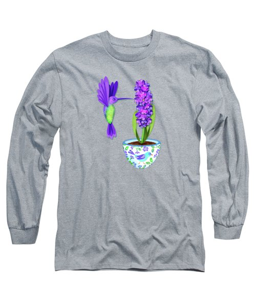 H Is For Hummingbird Long Sleeve T-Shirt