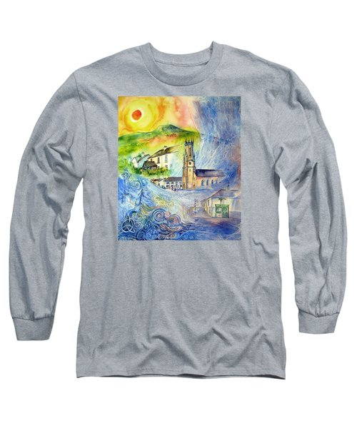 Hacketstown- Aide Memoire  Long Sleeve T-Shirt by Trudi Doyle