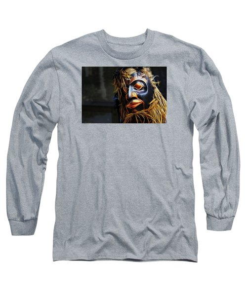 Long Sleeve T-Shirt featuring the photograph Haida Head by Cameron Wood
