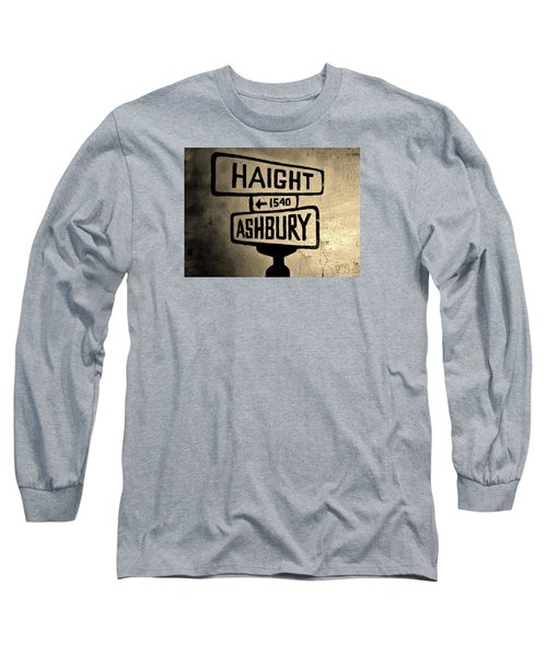 Long Sleeve T-Shirt featuring the photograph Haight Ashbury by Dany Lison