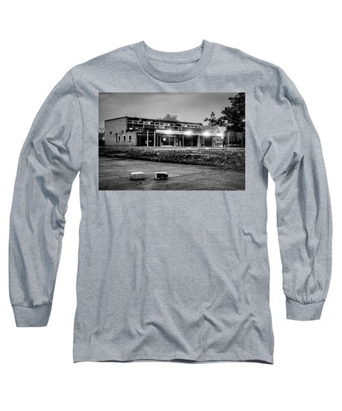Hale Barns Square - Demolition In Progress Long Sleeve T-Shirt