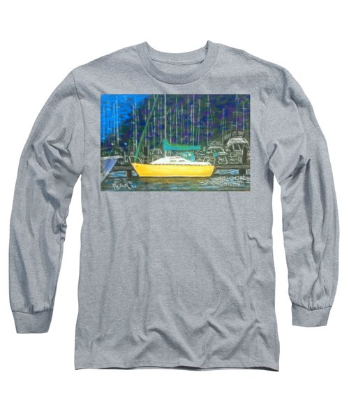 Hale Pau Hana Long Sleeve T-Shirt by Rae  Smith PSA
