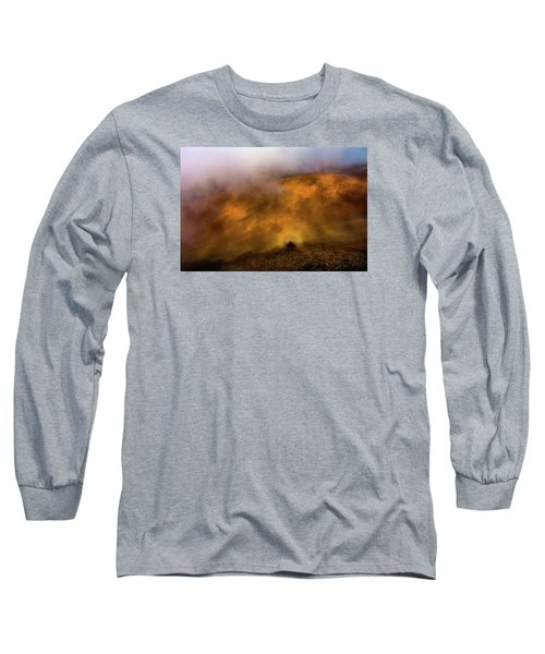 Long Sleeve T-Shirt featuring the photograph Haleakala Halo by M G Whittingham