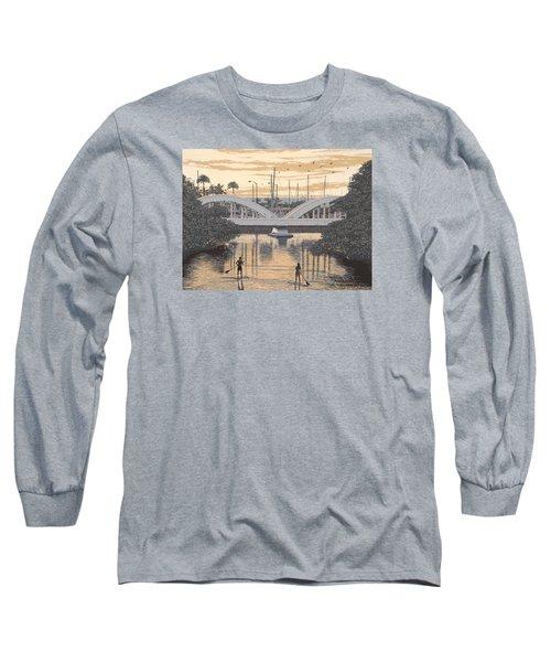 Haleiwa Bridge Long Sleeve T-Shirt