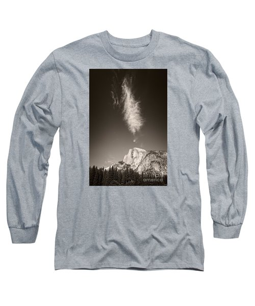 Half Dome And Cloud Long Sleeve T-Shirt
