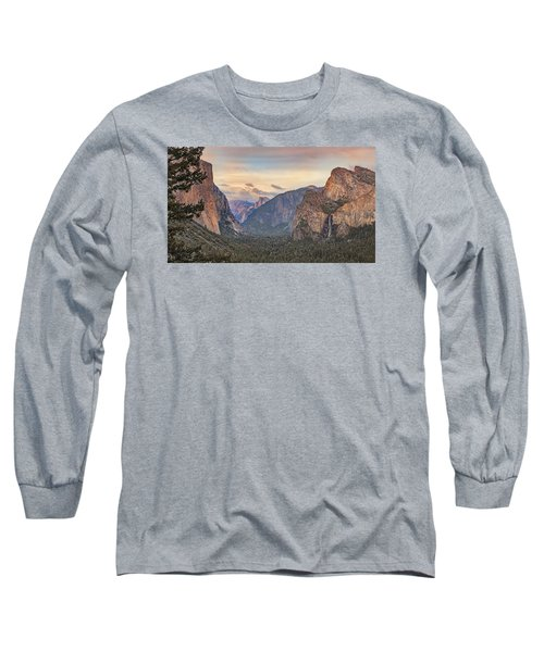 Long Sleeve T-Shirt featuring the photograph Yosemite Sunset by Harold Rau