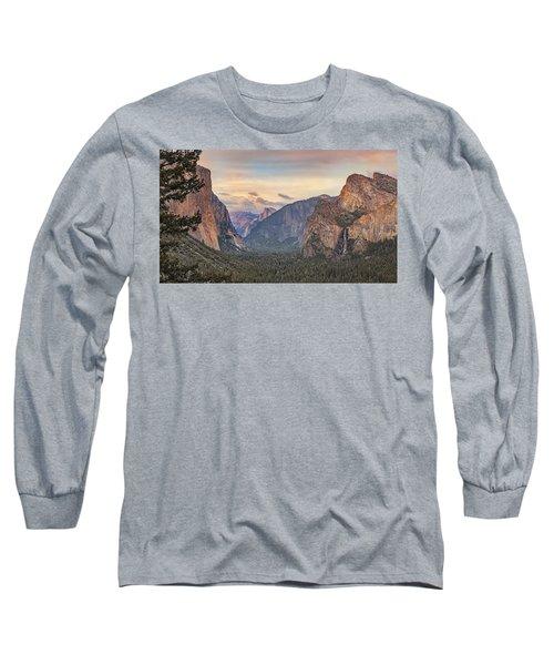 Yosemite Sunset Long Sleeve T-Shirt