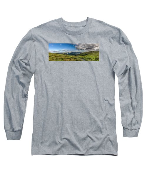 Half Way Up The Merrick Long Sleeve T-Shirt