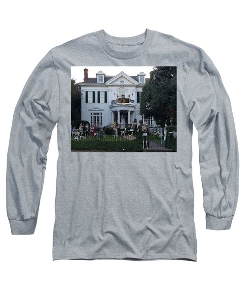 Halloween Decor New Orleans Style Long Sleeve T-Shirt
