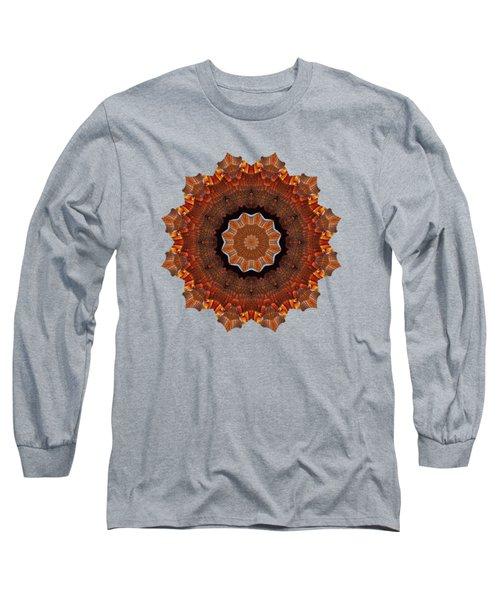 Halloween Kaleidoscope Sliver2-235 Long Sleeve T-Shirt