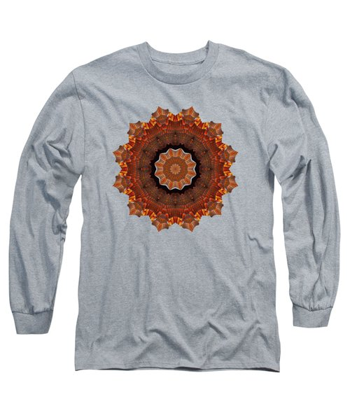 Halloween Kaleidoscope Sliver2-235 Long Sleeve T-Shirt